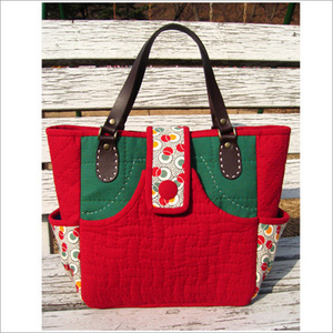 red-green bag